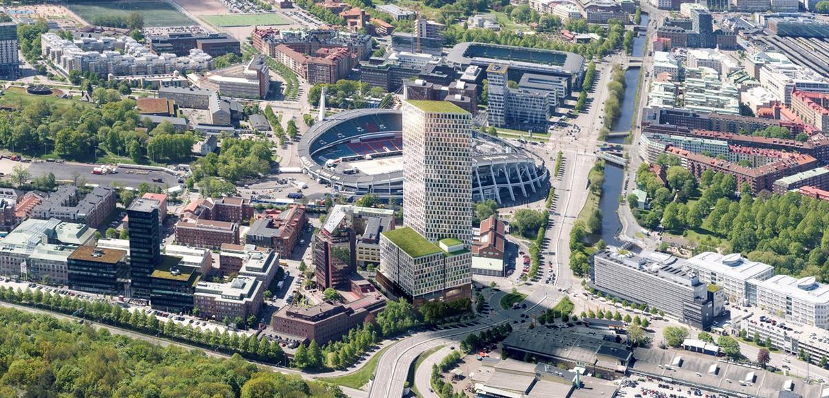 Assemblin to install state-of-the-art and sustainable electrical and telecommunications systems in tallest office building in the Nordic region